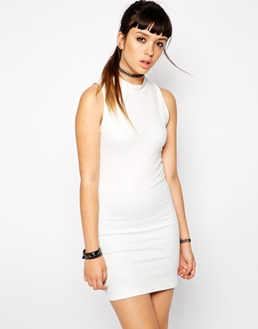 photo White Floral Mini Dress by Bill + Mar, color White - Image 1