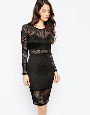 photo Bayswater Dress by Binky for Lipstick Boutique, color Black - Image 1