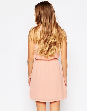 photo Nicky Dress by Blend She, color Tropical Peach - Image 2
