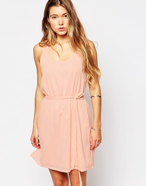 photo Nicky Dress by Blend She, color Tropical Peach - Image 1