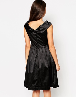photo Emily & Fin Norma Off The Shoulder Dress, color Black - Image 2