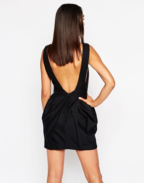 photo Act Naturally Dress by Finders Keepers, color Black - Image 2