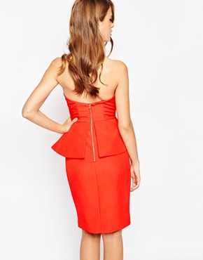 photo Raise A Glass Dress by Finders Keepers, color Red - Image 2