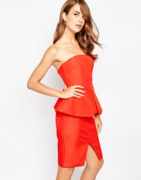 photo Raise A Glass Dress by Finders Keepers, color Red - Image 1