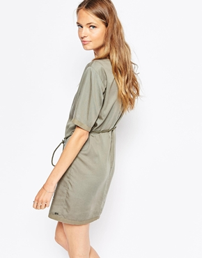 photo Sion T-Shirt Dress by Gsus Sindustries, color Grey - Image 2