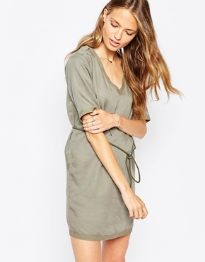 photo Sion T-Shirt Dress by Gsus Sindustries, color Grey - Image 1