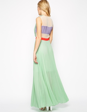 photo Neon Town Dress by Jovonna, color Mint - Image 2