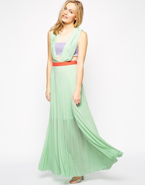 photo Neon Town Dress by Jovonna, color Mint - Image 1