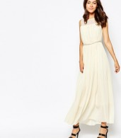 photo Butter Wouldnt Melt Maxi Dress with Embellishment by Jovonna Premier, color Cream - Image 1