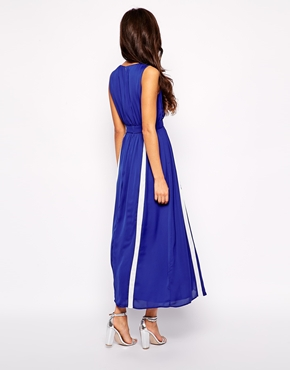 photo Starlight Talker Maxi Dress by Jovonna, color Blue - Image 2