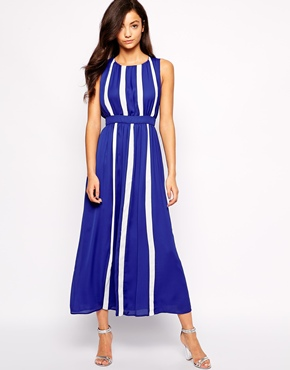 photo Starlight Talker Maxi Dress by Jovonna, color Blue - Image 1
