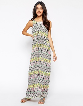 photo Ubud Maxi Dress by Meghan Fabulous, color Green Pink - Image 1