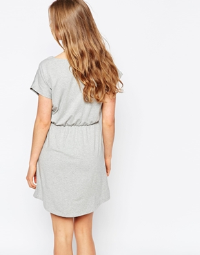 photo Omara Jersey Dress by Pieces, color Light Grey - Image 2