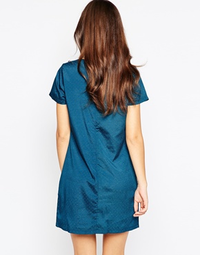 photo Rory Dress by Poppy Lux, color Teal Gold - Image 2