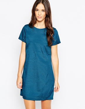 photo Rory Dress by Poppy Lux, color Teal Gold - Image 1