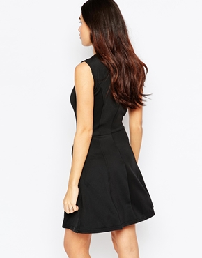photo Thedora Dress by Poppy Lux, color Black Gold - Image 2