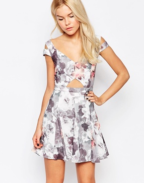 photo First Dress in Floral Print by Stylestalker, color Multi - Image 1