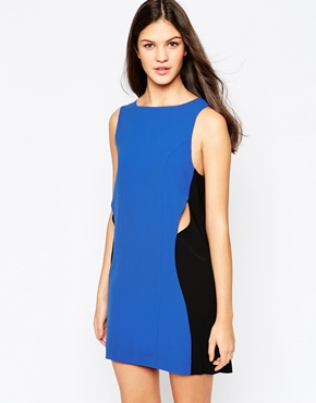 photo Where The Party At Dress by Stylestalker, color Blue - Image 1