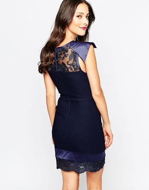 photo Paolo Dress by The Crystal Collection by Vesper, color Navy - Image 2