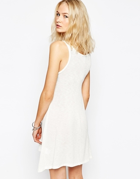 photo Chick Of The Sea Swing Dress by The Laundry Room, color White - Image 2
