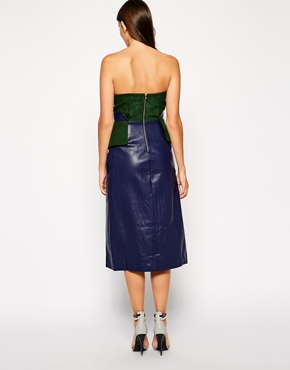 photo Broadwalk Dress by Three Floor, color Green Navy - Image 2
