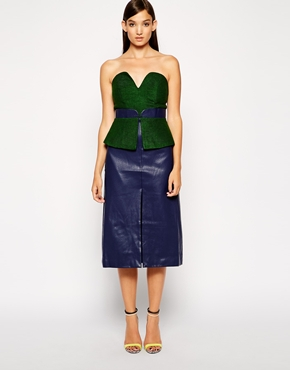 photo Broadwalk Dress by Three Floor, color Green Navy - Image 1