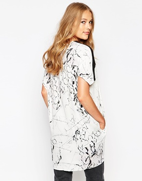 photo Shift Dress by Twisted Muse, color Mosiac Print - Image 2