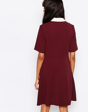 photo Quin Dress by Wood Wood, color Port Royal - Image 2