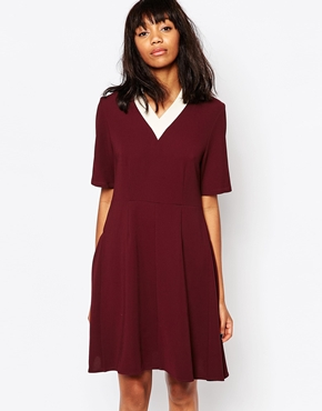 photo Quin Dress by Wood Wood, color Port Royal - Image 1