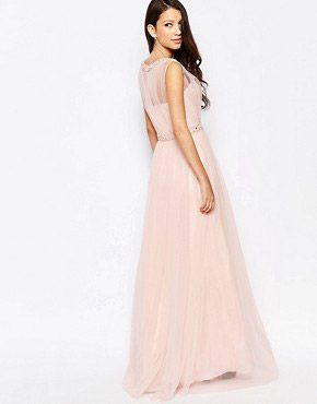 photo Ashley Roberts for Key Collections Beautiful Dress, color Pink - Image 2