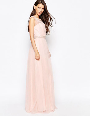photo Ashley Roberts for Key Collections Beautiful Dress, color Pink - Image 1