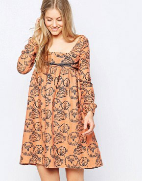 photo Etta Dress by Family Affairs, color Alchemy Print - Image 1