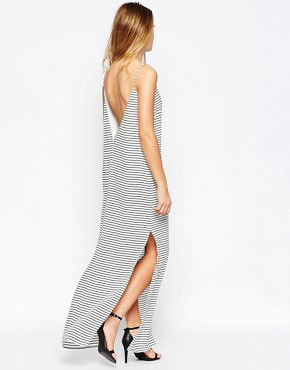photo Underground Kings Striped Maxi Dress by Finders Keepers, color Stripe - Image 2