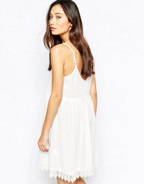 photo Cami Summer Dress by JAPONICA, color Ivory - Image 2