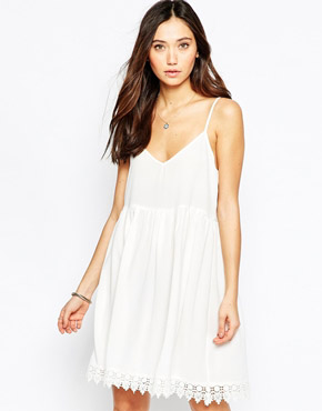 photo Cami Summer Dress by JAPONICA, color Ivory - Image 1