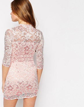 photo Lace Dress by Lasula, color White - Image 2