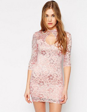 photo Lace Dress by Lasula, color White - Image 1