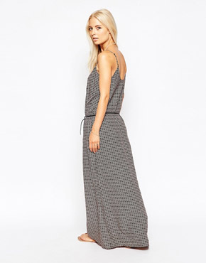 photo Maxi Dress in Safari Print by Maison Scotch, color Multi - Image 2