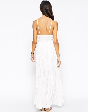 photo Wendy Moira Maxi Dress by Meghan Fabulous, color Ivory - Image 2