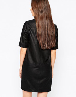 photo Montesson Leather Dress by Muubaa, color Black - Image 2