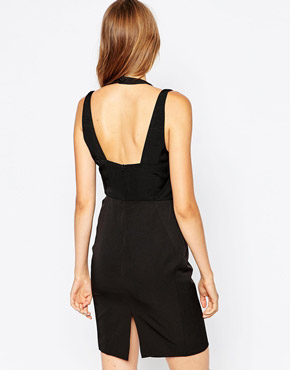 photo Cubic Double Strap Dress by Suboo, color Black - Image 2