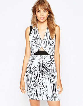photo Tanzania Double Strap Dress by Suboo, color Print - Image 1