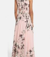 photo Charming Floral Printed Sleeveless Maxi Dress by OASAP, color Pink - Image 2