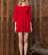 photo Chic Button Down Trapeze Dress by OASAP - Image 11