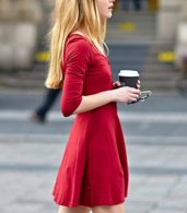 photo Chic Button Down Trapeze Dress by OASAP - Image 5