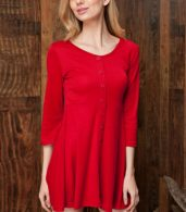 photo Chic Button Down Trapeze Dress by OASAP - Image 10