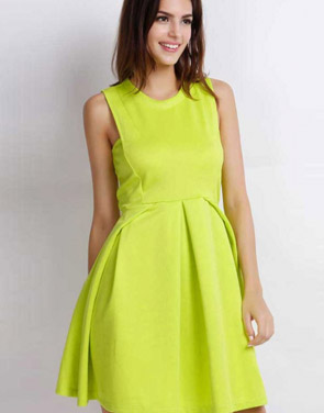 photo Easy Sleeveless A-line Dress by OASAP - Image 2