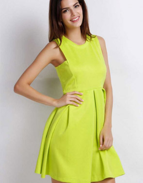 photo Easy Sleeveless A-line Dress by OASAP - Image 1
