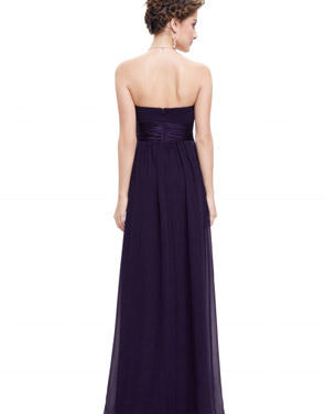 photo Elegant Strapless Maxi Prom Evening Party Dress by OASAP - Image 12