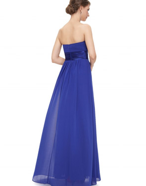photo Elegant Strapless Maxi Prom Evening Party Dress by OASAP - Image 19